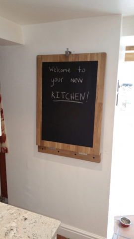 Kitchen blackboard bar flap oak granite watlington oxfordshire 576x1024