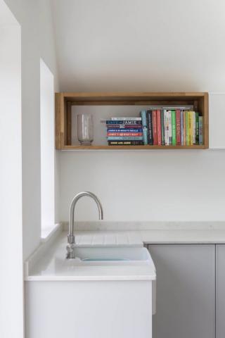 Oak shelf box kitchen storage bespoke kitchen oxfordshire 683x1024