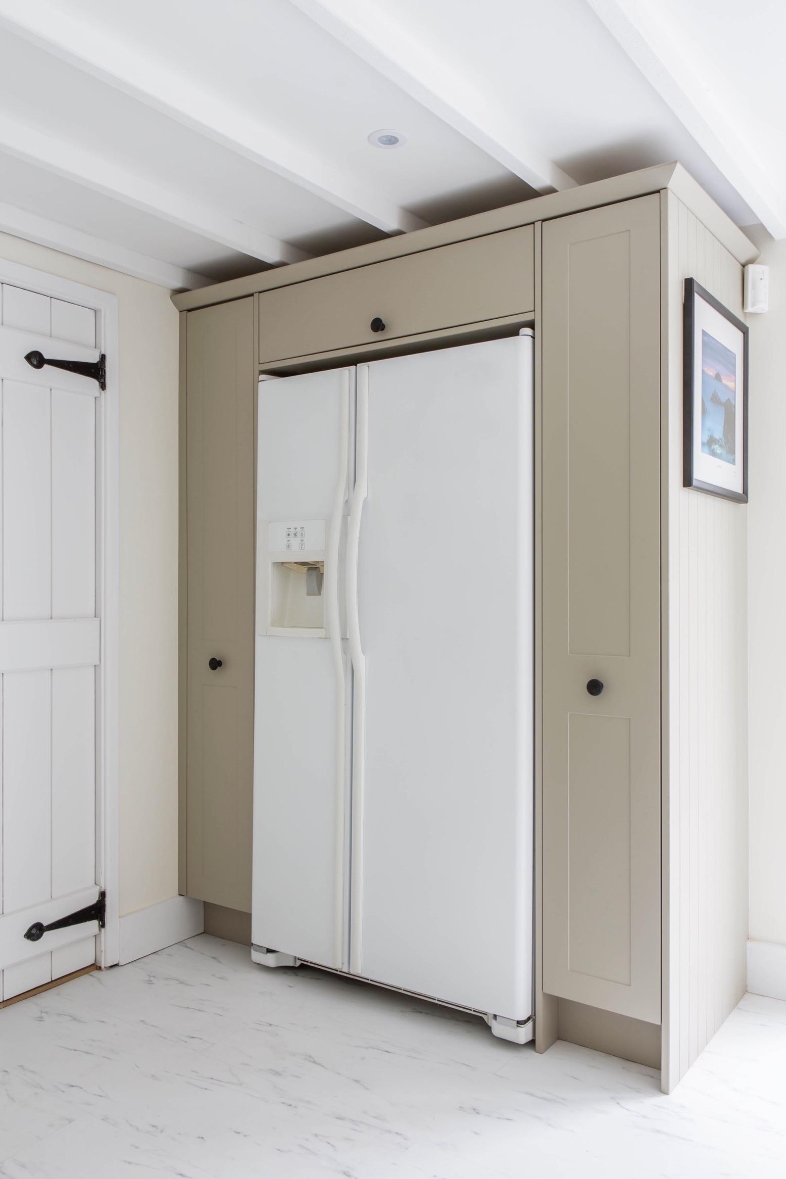 Pull out larder storage fridge housing shabbingdon thame buckinghamshire 1