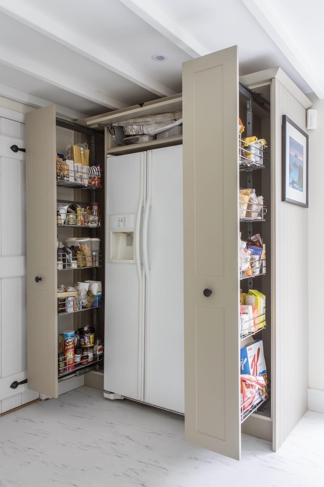 Pull out larder storage fridge housing shabbingdon thame buckinghamshire 2