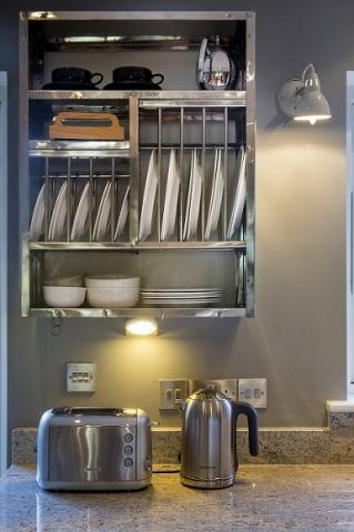 Steel kitchen plate rack oxford north