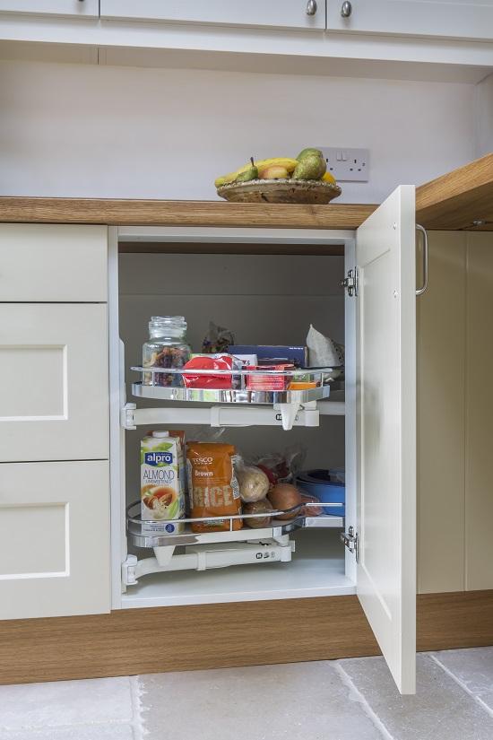 clever corner storage kitchen quainton buckinghamshire 1