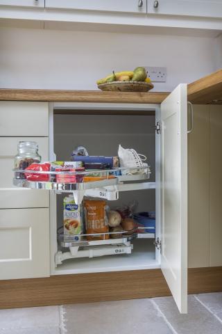 clever corner storage kitchen quainton buckinghamshire