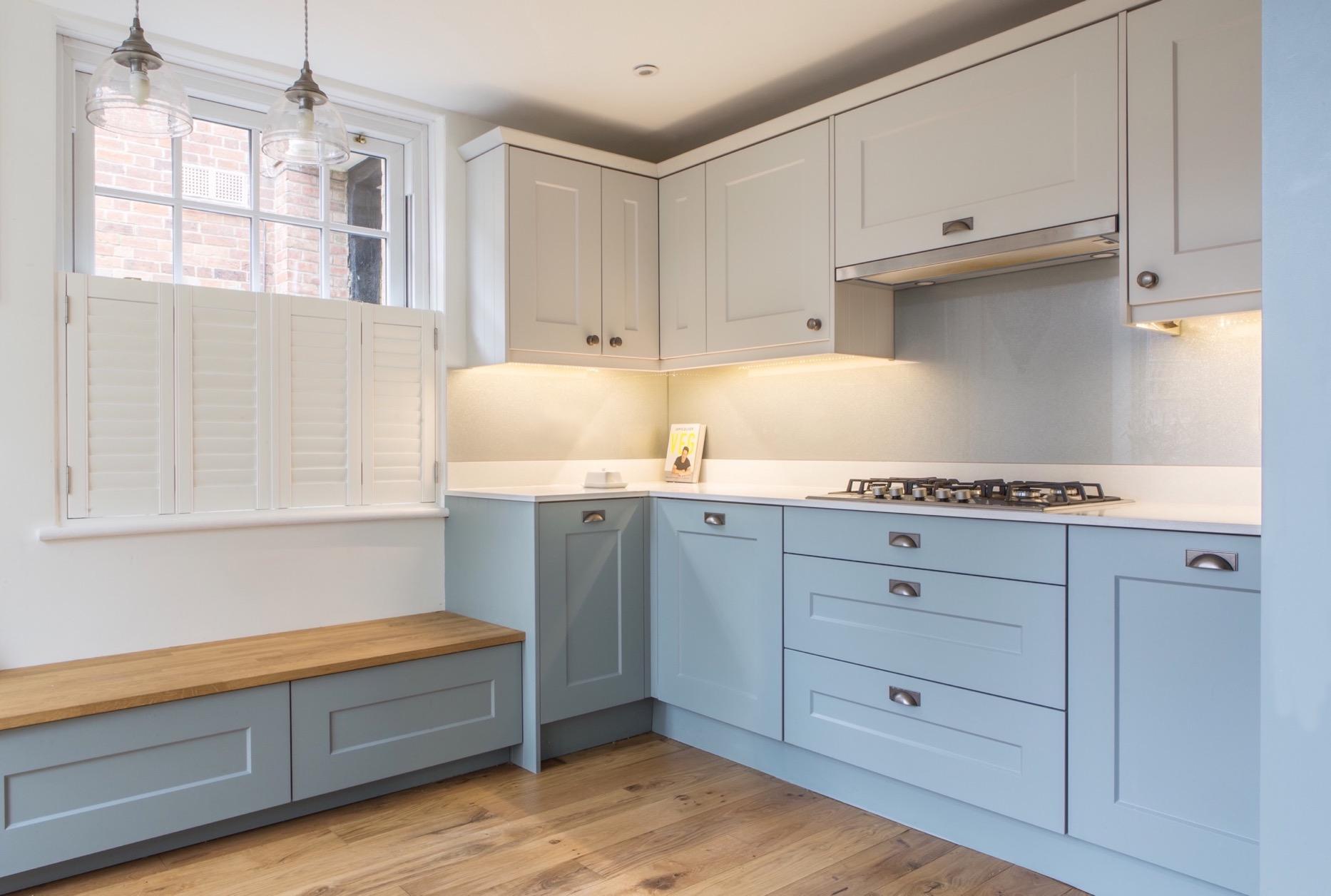 clever kitchen corner storage magic corner thame bespoke kitchen design oxfordshire 2