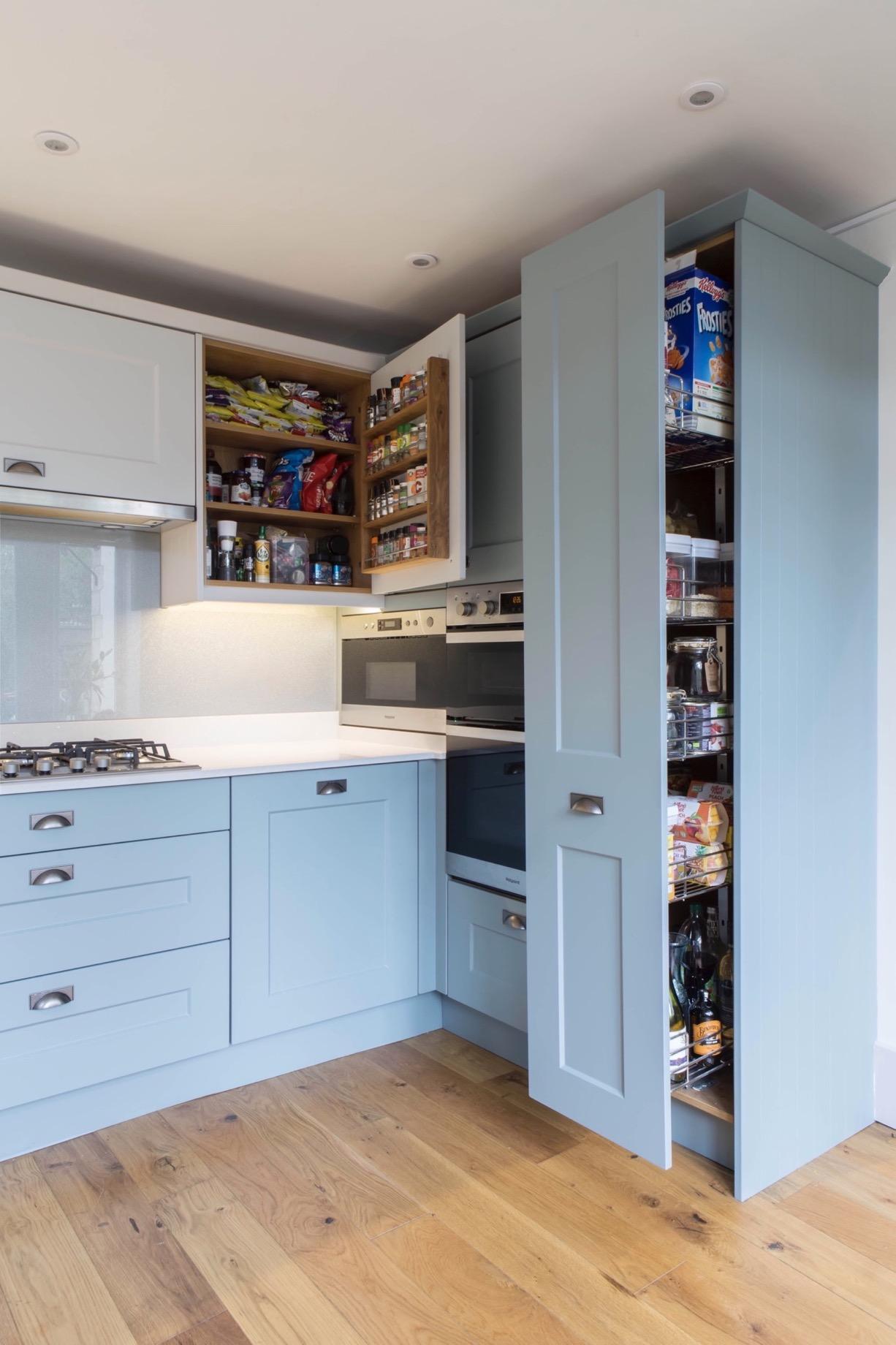 clever kitchen larder spice rack thame bespoke kitchen design oxfordshire 2