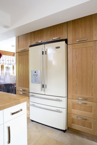 cream rangemaster fridge with drawers thame oxford