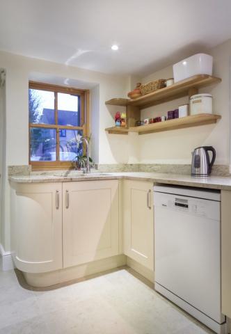 curved oak shelves curved handpainted cupboard headington oxfordshire 708x1024