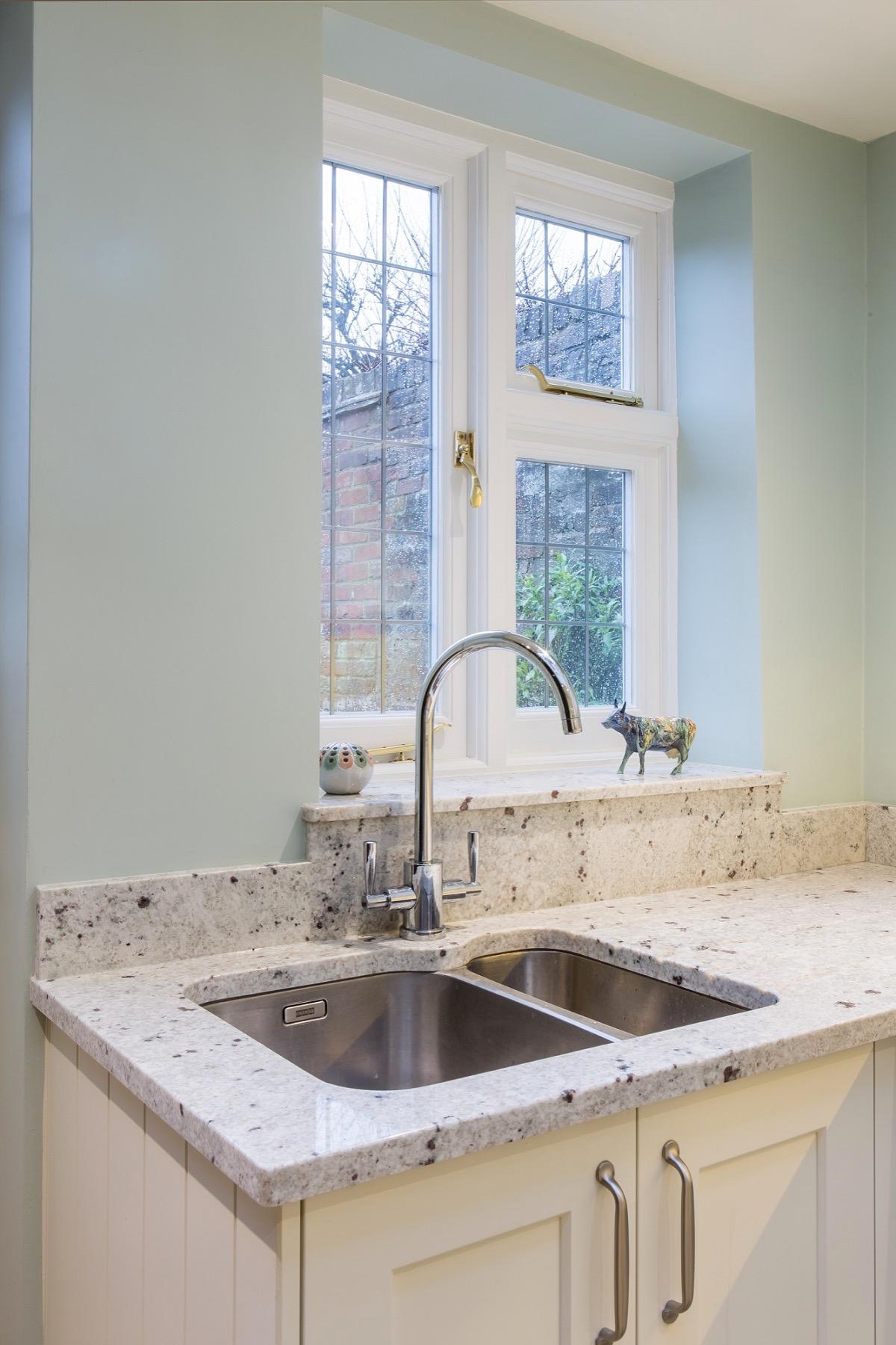 granite upstand with riser to windowsill in granite princes risborough longwick buckinghamshire kitchen