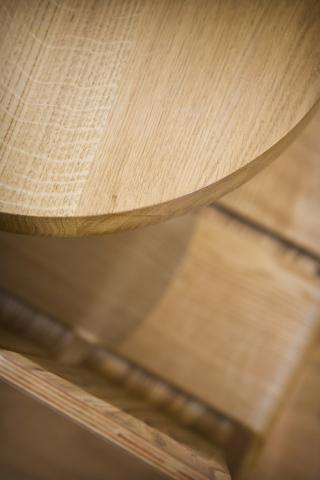 oak worktop curved chinnor bespoke kitchen oxford