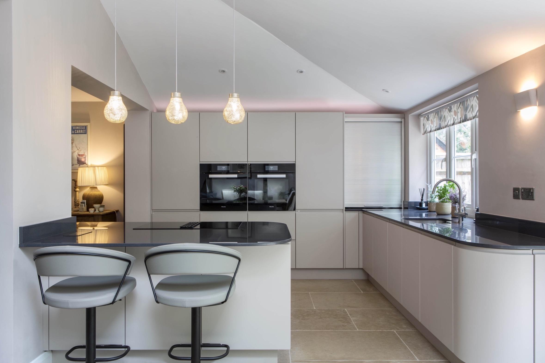 side by side ovens goring modern bespoke kitchen 2