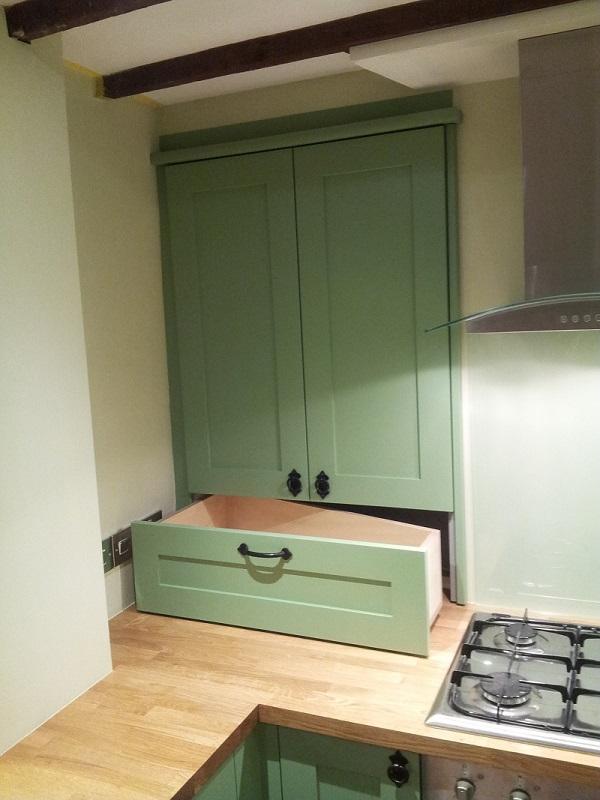 worktop dresser rolling drawer haddenham buckinghamshire 2